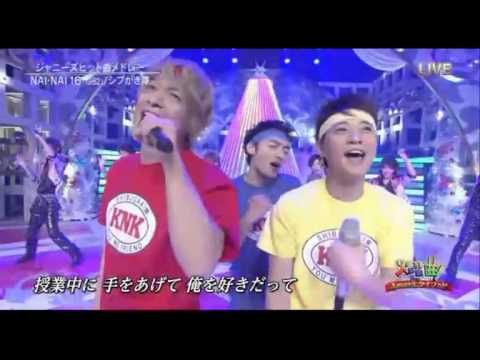 SMAP Nai_Nai_16-Johnnys Medly - YouTube
