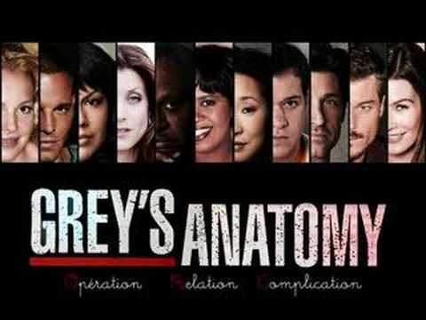 Grey's Anatomy Theme Song - YouTube
