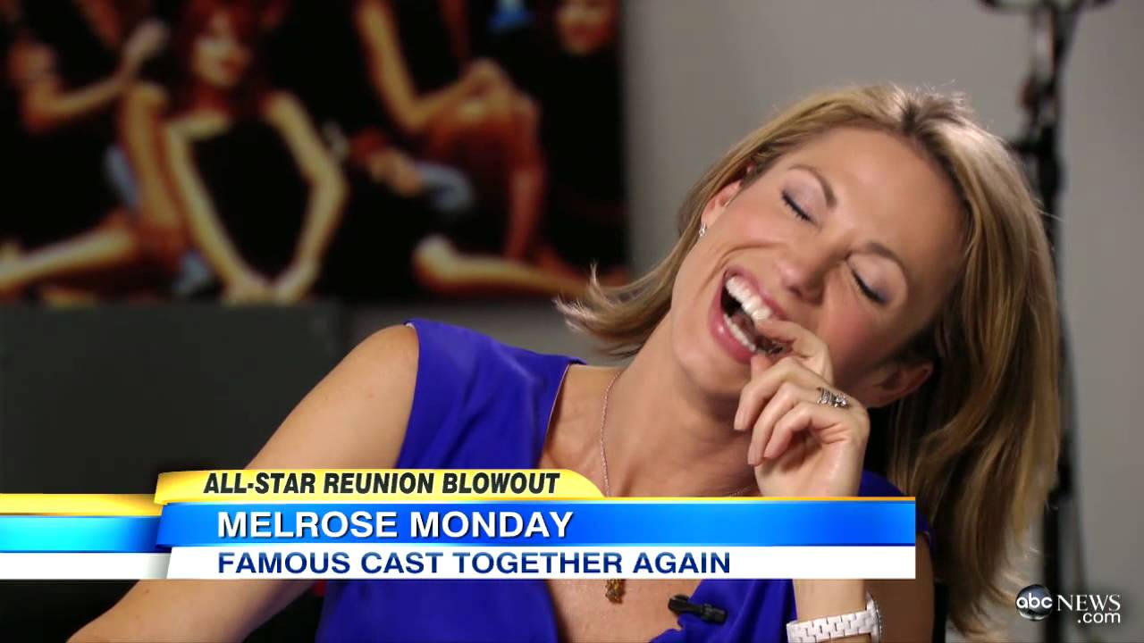 'Melrose Place' Cast Reunion Includes Heather Locklear, Andrew Shue - YouTube