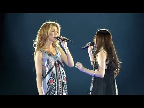 Céline Dion & Yuna Ito | A World to Believe In | Tokyo 2008 - YouTube