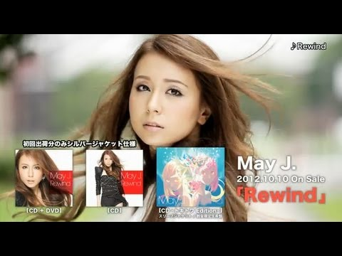 May J. / New Single「Rewind」Special Movie - YouTube